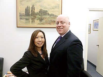 Andrew C. Laufer & Evelyn Jaw